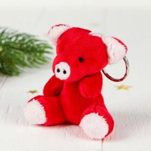 Мягкая игрушка-брелок «Поросёнок», цвета МИКС