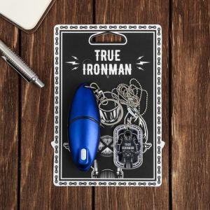 """Набор """"True ironman"""", жетон, брелок-мультитул   3678411"""