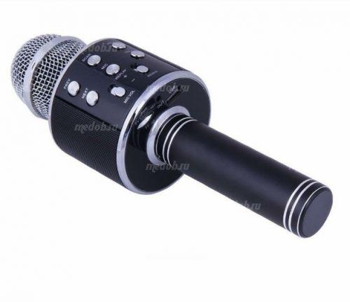Караоке микрофон WS-858 black