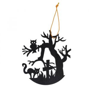 Подвеска резная «Ночь на кладбище»
