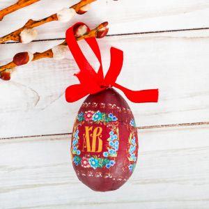 Яйцо пасхальное «ХВ»
