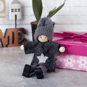 Игрушка - подвеска «Кукла - Миша», МИКС