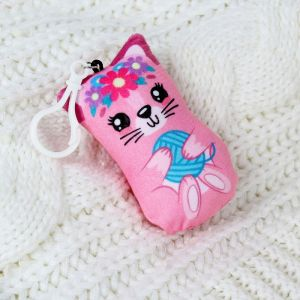 Мягкая игрушка «Котик», на подвеске