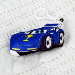 Мягкая игрушка «Тачка», на подвеске