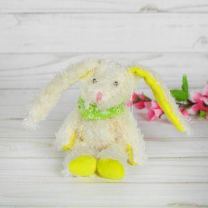Мягкая игрушка-подвеска «Заинька», с банданой, цвета МИКС