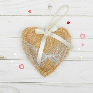 Мягкая игрушка-подвеска «Сердце»