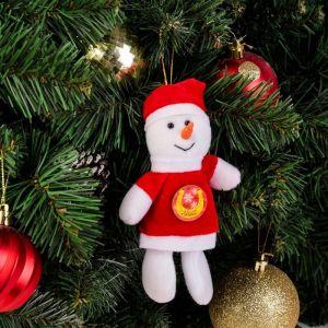 Новогодняя подвеска - игрушка «Удачи», виды МИКС