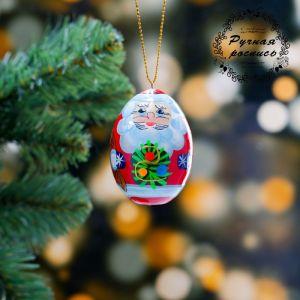 Подвеска «Дед Мороз», 3?6,5 см, микс, ручная роспись 4429946