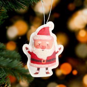 Подвеска «Дед Мороз», 9?9 см, термопечать, фильц 4479957