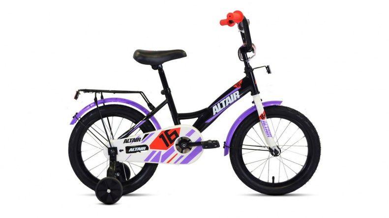 Велосипед детский ALTAIR KIDS 20 (RBKT05N01009) Черный/белый