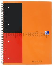 Тетрадь А4+ 80л.лин.Oxford NOTEBOOK International ламин.картон 100104036