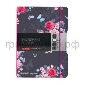 Тетрадь А5 40л.кл.Herlitz my.book Flex LADYLIKE Flowers 50021512