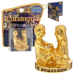 """Фигурка """"Близнецы"""", 4,1 х 3 см 1468829"""
