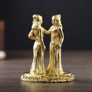 """Фигурки миниатюры женские гороскоп """"Близнецы"""", 4,5 х 3,5 см   2588861"""