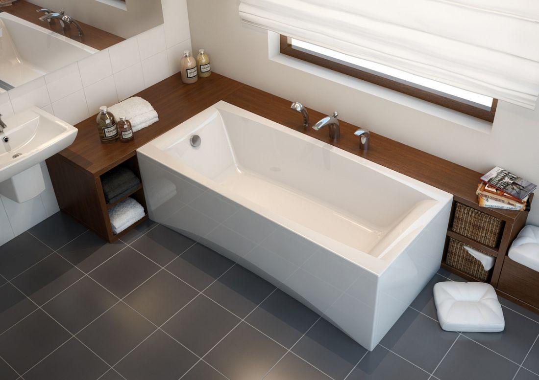 Cersanit VIRGO Акриловая ванна 170*75, без ножек, белая