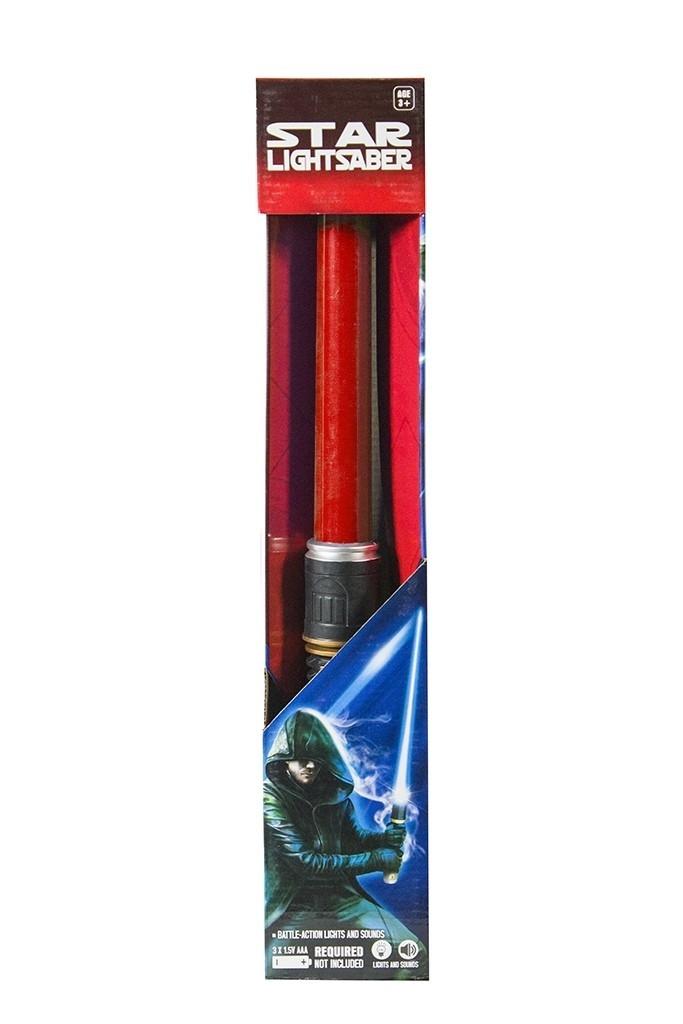 Световой красный меч Star Wars