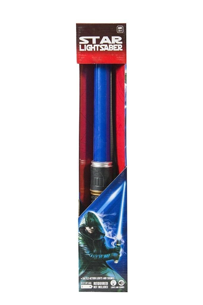 Синий складной световой меч