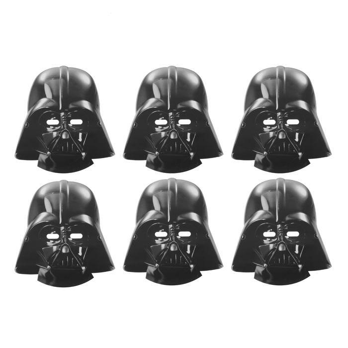 Маска Звездные Войны набор 6 шт