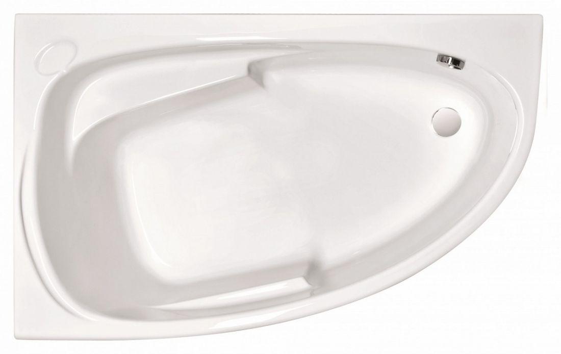 JOANNA 150x95 ванна Левая ,без ножек белый,Сорт1/18шт