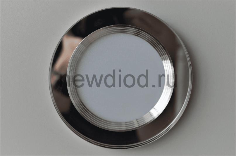 Точечный Светильник OREOL Crystal Rlp P6013 4+6Вт 4000K 120/80mm Белый