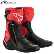 Мотоботы Alpinestars SMX Plus V2, Красно-чёрные