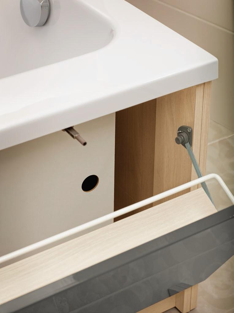 SMART 170 Модуль д/ванны фронтальный,(Серый), Сорт 1,