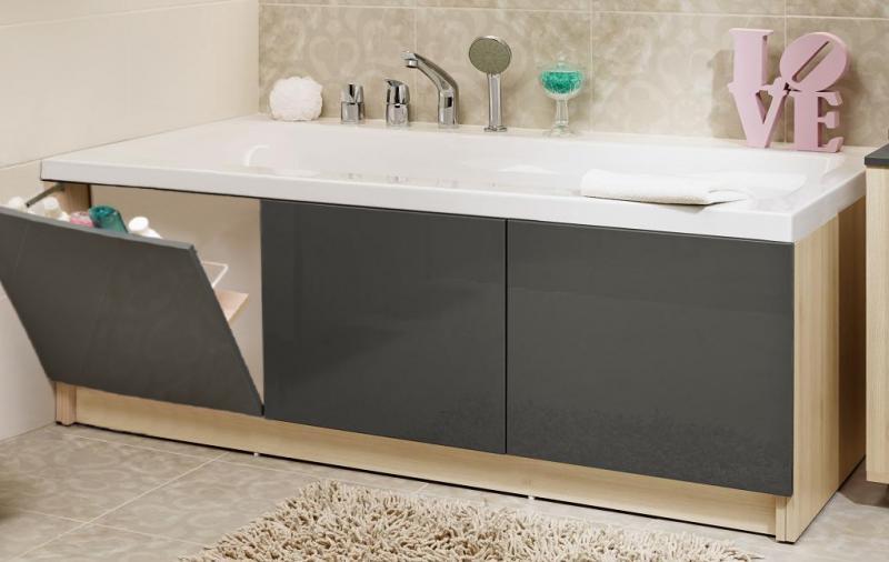 Cersanit SMART Акриловая ванна 170*80, без ножек, левосторонняя, белая