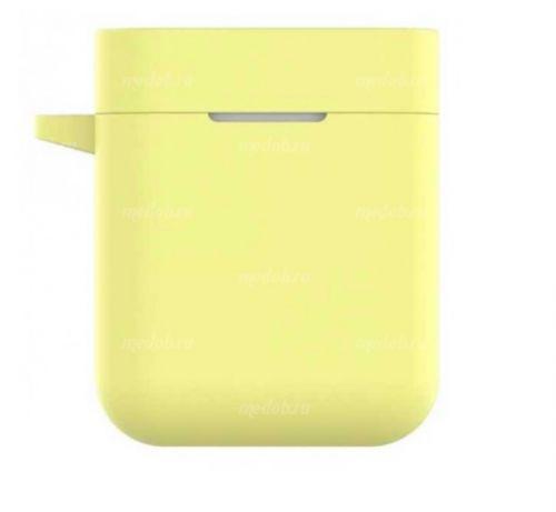 Силиконовый чехол для Xiaomi AirDots Pro Yellow