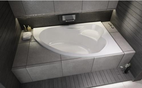 Cersanit KALIOPE Акриловая ванна 170x110, без ножек, левосторонняя, белая