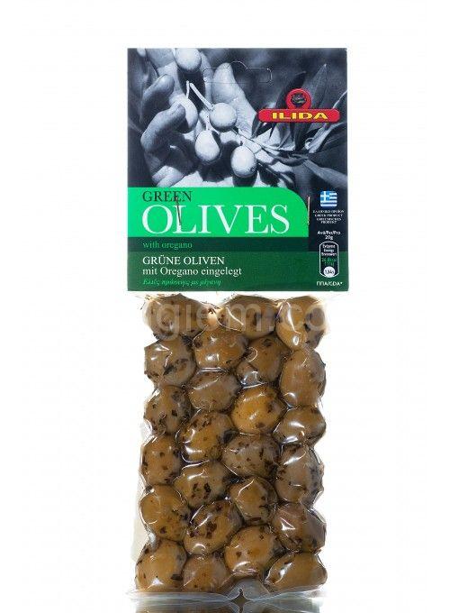 GREEN Agriniou оливки с орегано в вакууме 150 г