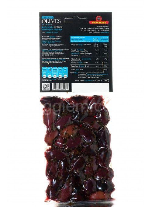 KALAMATA оливки с орегано в масле в вакууме,150 грамм
