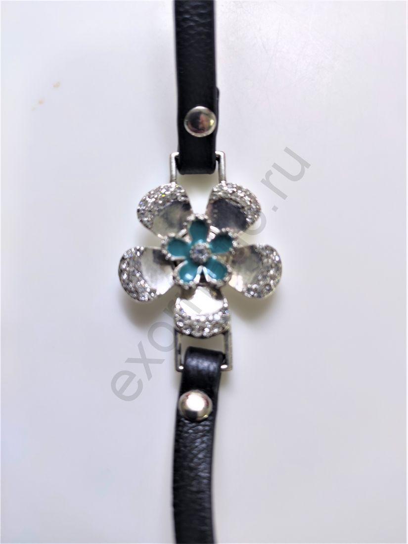 Браслет PILGRIM 431319007. Коллекция Silver crystal