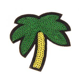 Декор на булавке «Пальма» для одежды, сумок, обуви