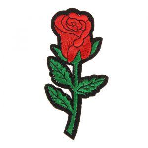 Декор на булавке «Роза» для одежды, сумок, обуви