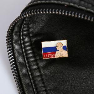 Значок «В. В. Путин», серия Патриот