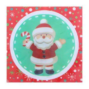 Карнавальный значок световой «Дед Мороз»