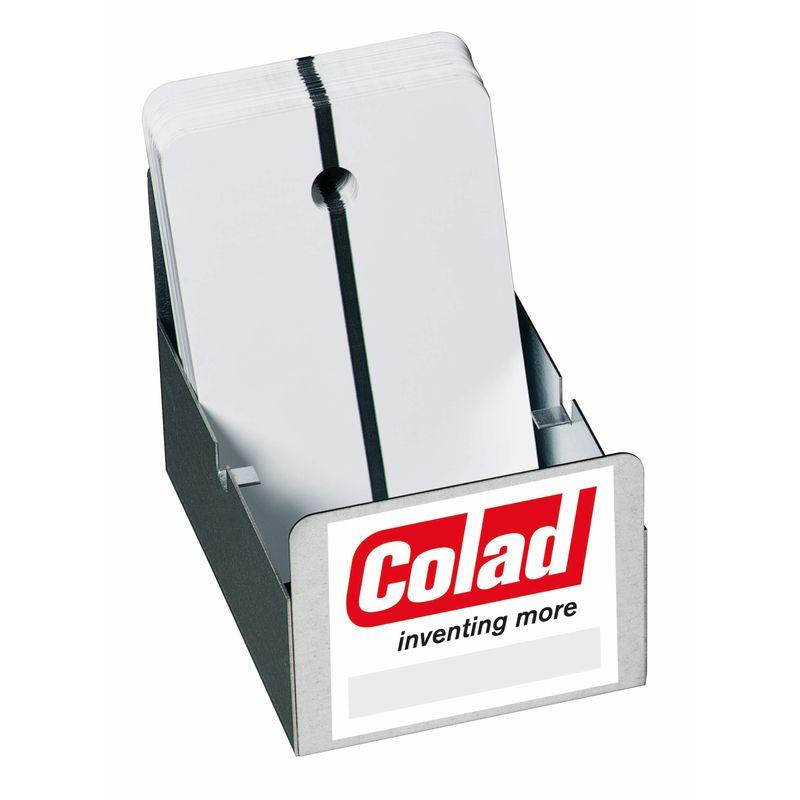 Colad Шаблоны для напыления краски металлические, белый, (упаковка 1 шт.)