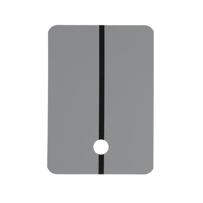 Colad Шаблоны для напыления краски металлические, светло-серый, (упаковка 1 шт.)