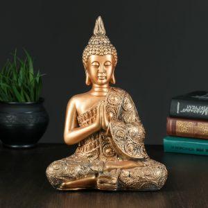 """Копилка """"Будда средний"""" бронза   4376159"""
