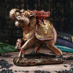"""Копилка """"Слон"""", глянец, бронзовый цвет, 26 см"""