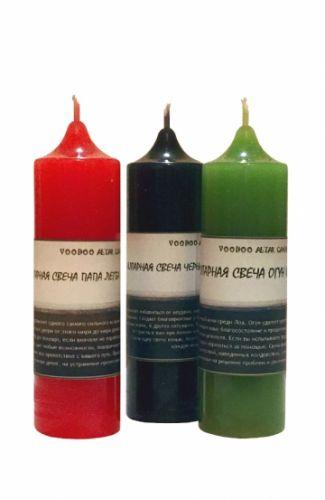 Алтарная свеча Огун (Ogoun)