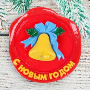 Магнит новогодний объемный, МИКС