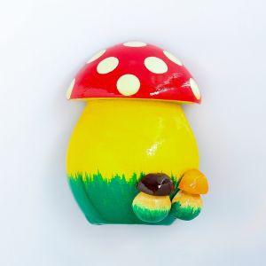 Магнит «Гриб с грибочками», ручная роспись, МИКС 4415042
