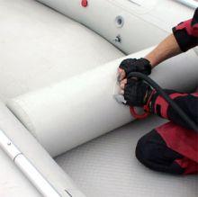 """Надувное сиденье в лодку """"цилиндр"""" (72х27 см)"""