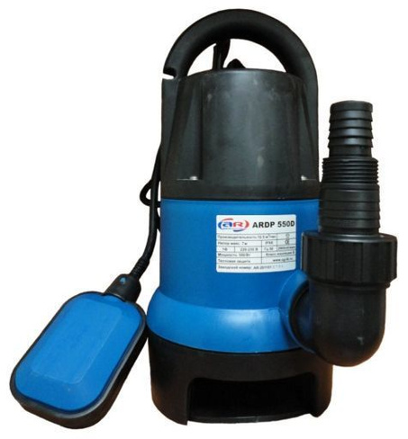 Насос дренажный AquamotoR ARDP 550 D-1(до 35 мм)