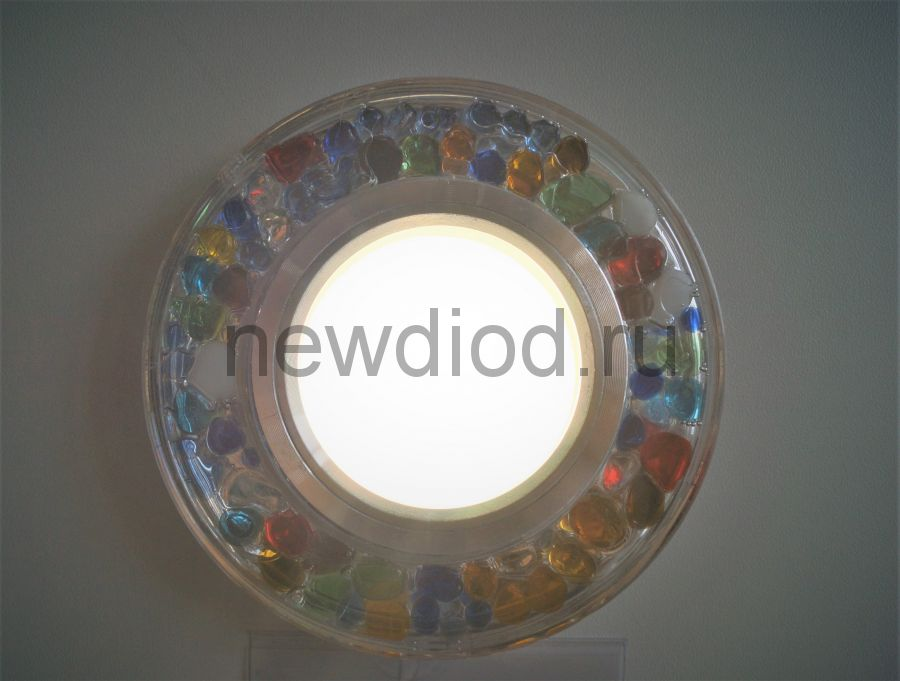 Точечный Светильник OREOL Crystal G4005 95/60mm Под Лампу MR16 Белый