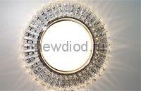 Точечный Светильник OREOL Crystal GX109 130/80mm Под Лампу GX53 H4 Белый