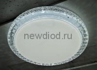 Управляемый светодиодный светильник AKRILIKA 681 72Вт 5700Лм 500мм пульт 6/3/4000K Oreol