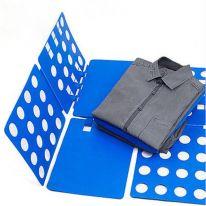 Рамка для складывания взрослой одежды CLOTHES FOLDER, голубой