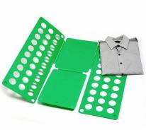 Рамка для складывания взрослой одежды CLOTHES FOLDER, зелёный